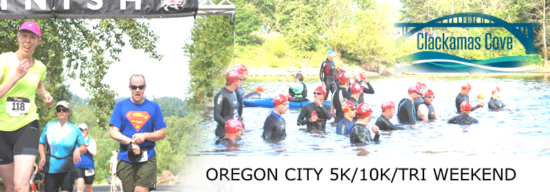 Clackamas Cove Tri and 5k-10k run